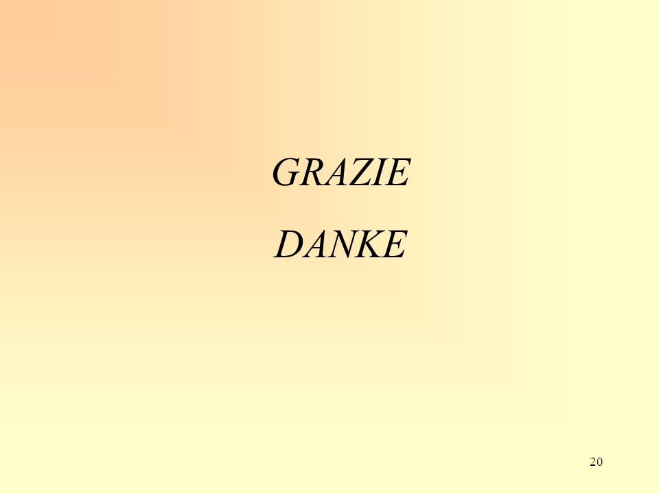 GRAZIE DANKE 20