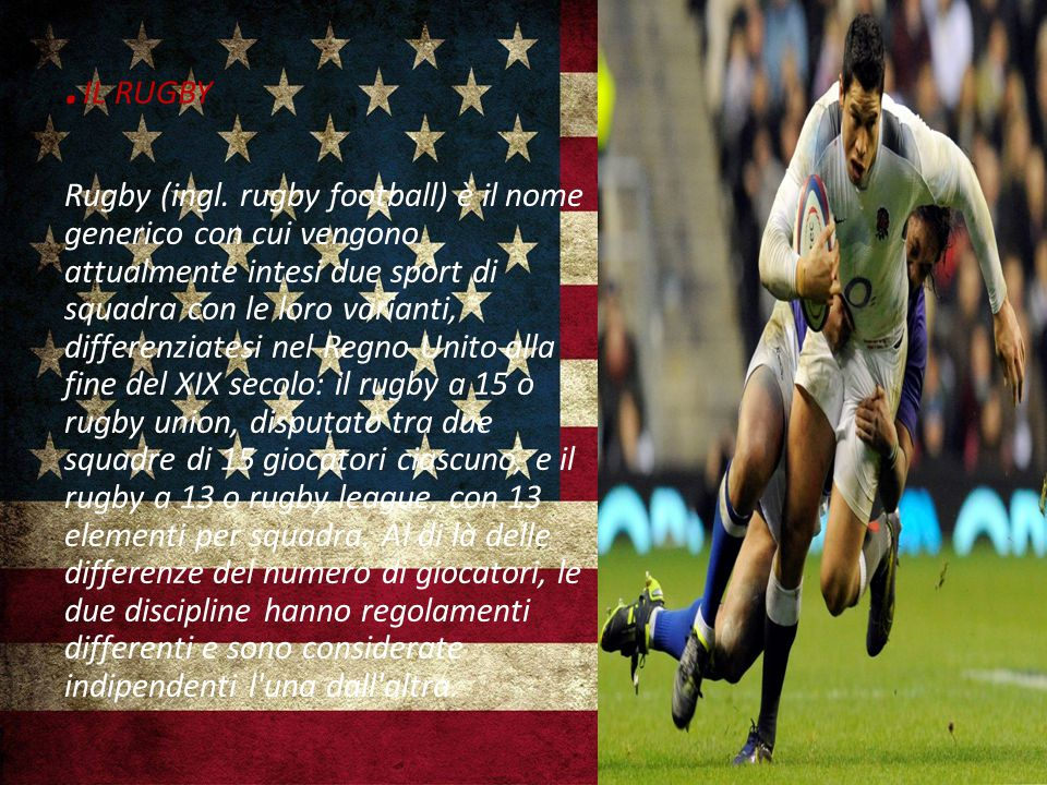 IL RUGBY Rugby (ingl.