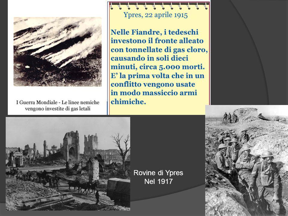Rovine di Ypres Nel 1917