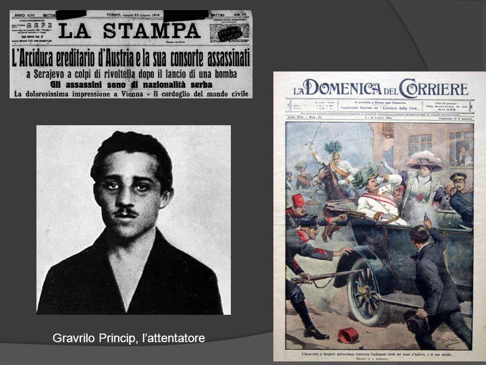 Gravrilo Princip, l'attentatore