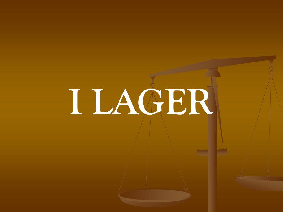 I LAGER