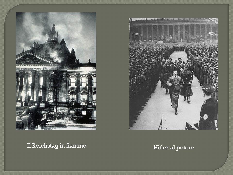  Aboliti tutti i partiti tranne quello nazista.