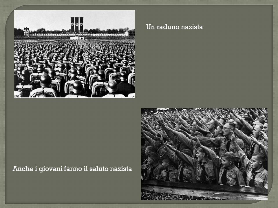  Nei lager (=campi di concentramento) finiscono tutti gli avversari politici ma anche i disabili e i malati mentali, perché lo stato nazista non tollera debolezze.