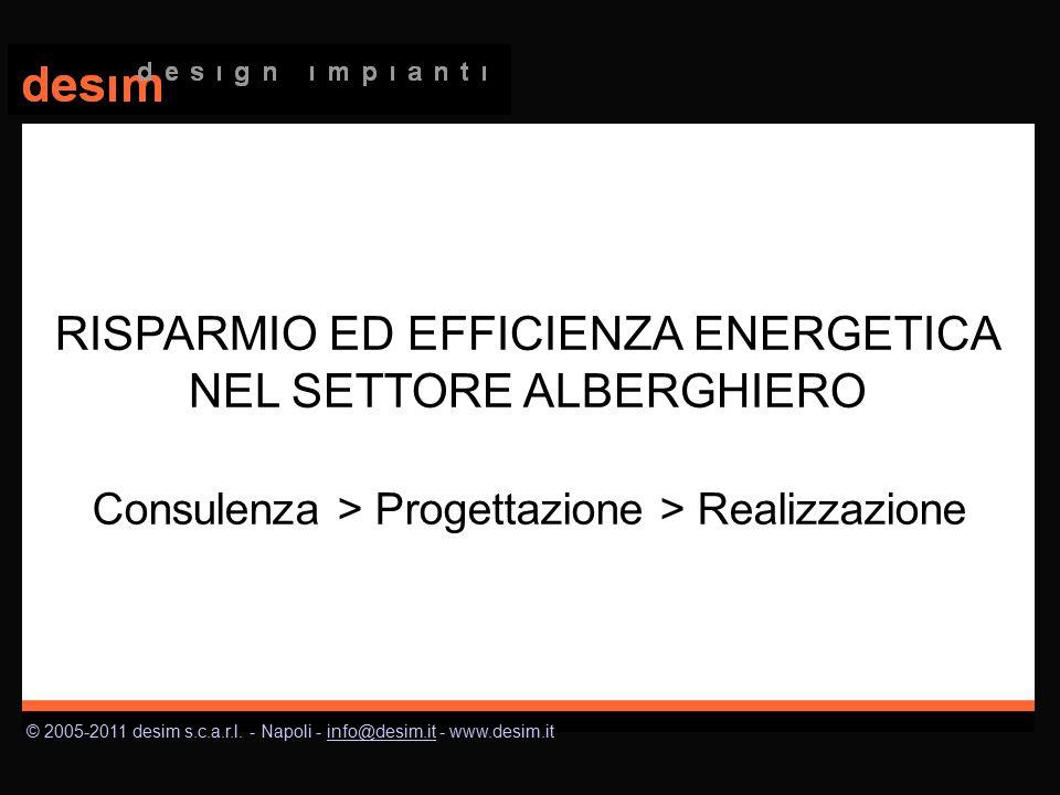 © 2005-2011 desim s.c.a.r.l. - Napoli - info@desim.it - www.desim.itinfo@desim.it Consulenza > Progettazione > Realizzazione RISPARMIO ED EFFICIENZA E