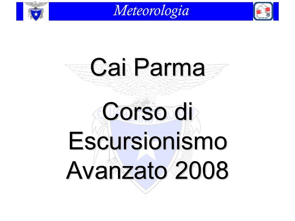 Cai Parma Corso di Escursionismo Avanzato 2008