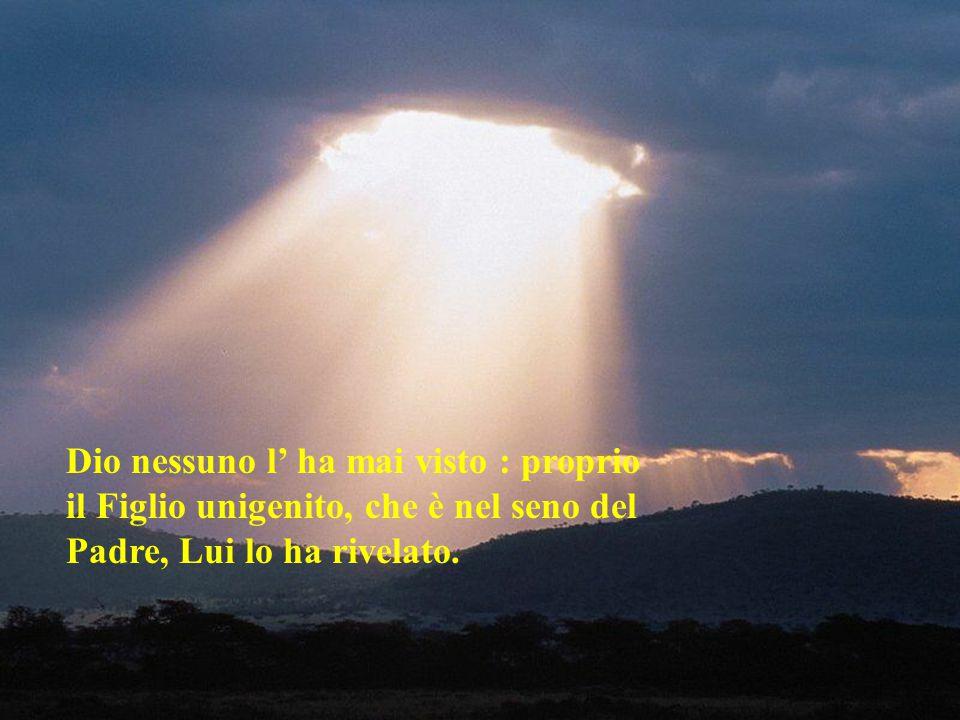 Dalla sua pienezza noi tutti abbiamo ricevuto e grazia su grazia.