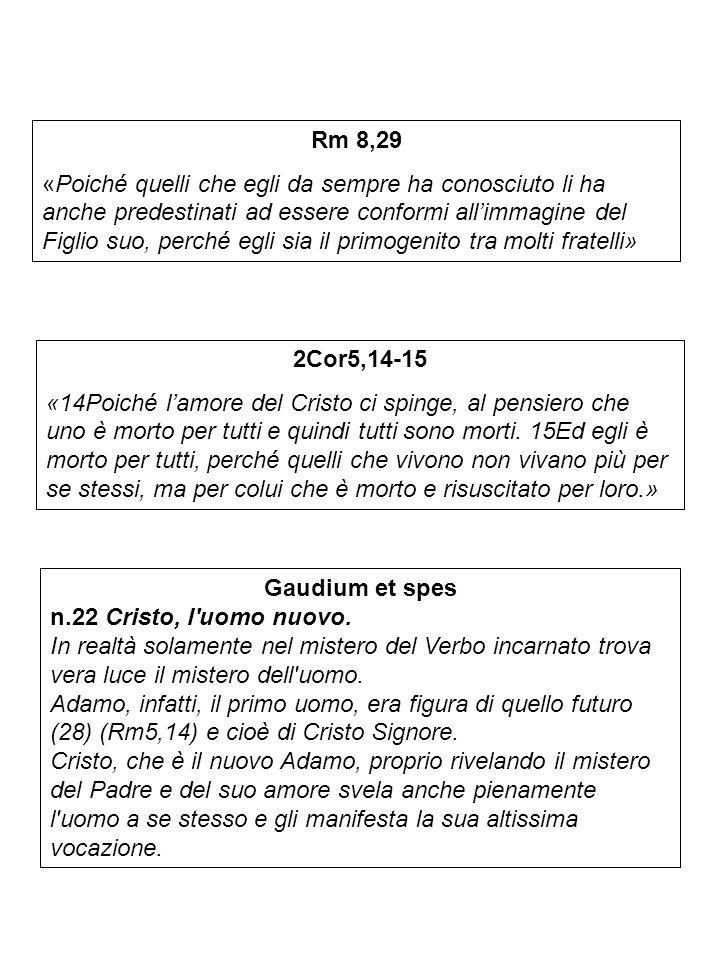 Gaudium et spes n.24 L indole comunitaria dell umana vocazione nel piano di Dio.