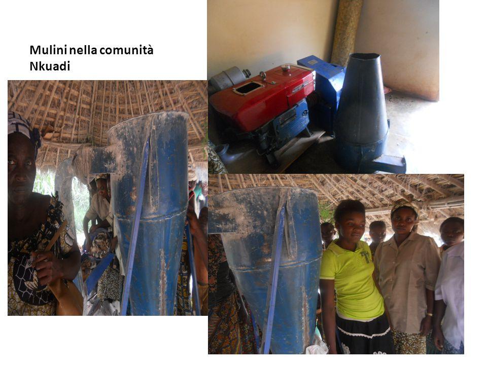 Mulini nella comunità Nkuadi