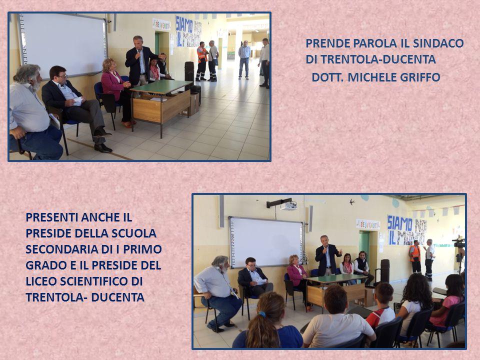 PRENDE PAROLA IL SINDACO DI TRENTOLA-DUCENTA DOTT.