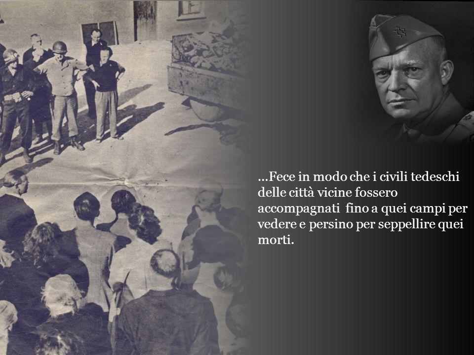 Sessantacinque anni fa, il Supremo Comandante delle Forze alleate (Stati Uniti, Inghilterra, Francia), Generale Dwight D.