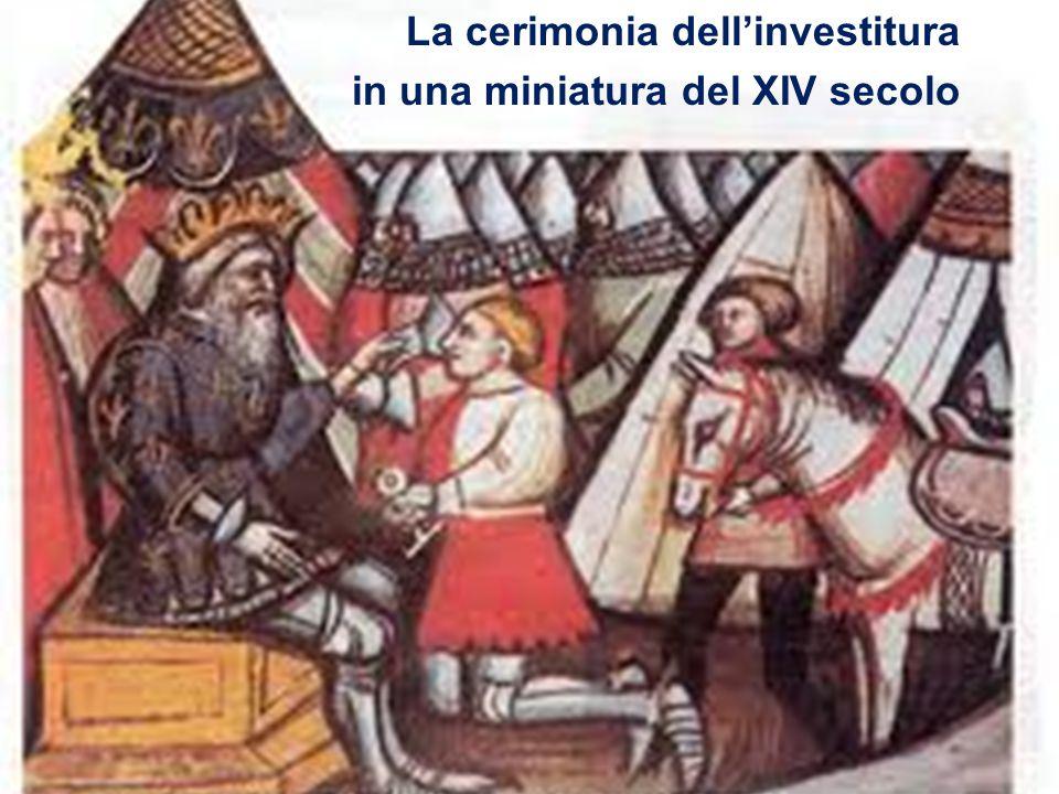 Il vassallaggio Legami di obbedienza e fedeltà Sin dai merovingi, l'aristocrazia è legata al re in un rapporto di reciproca dipendenza (vassallaggio)