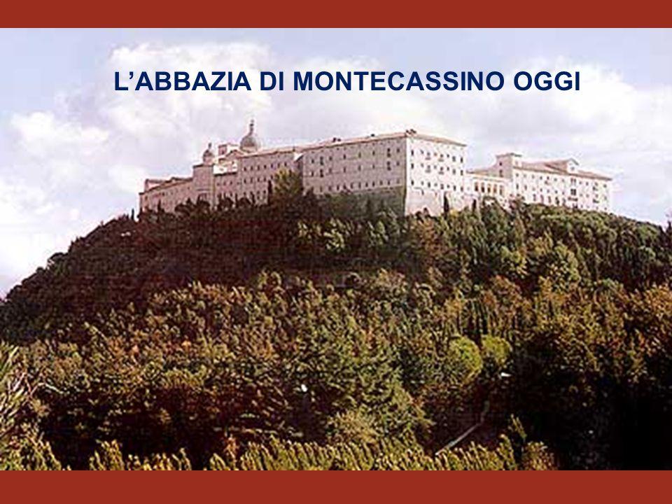 """SAN BENEDETTO DA NORCIA 480- 547 Monastero di Montecassino PREGHIERA REGOLA BENEDETTINA """" ORA ET LABORA"""" ABATE MONACI Fonda il comandato da un Stabili"""