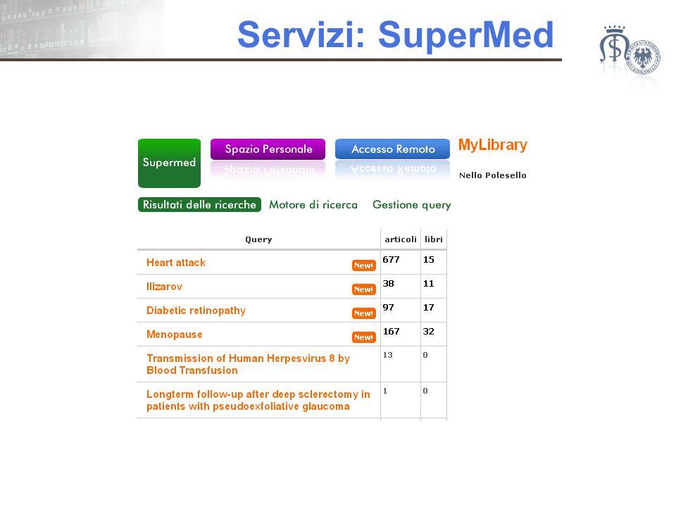 Servizi: SuperMed