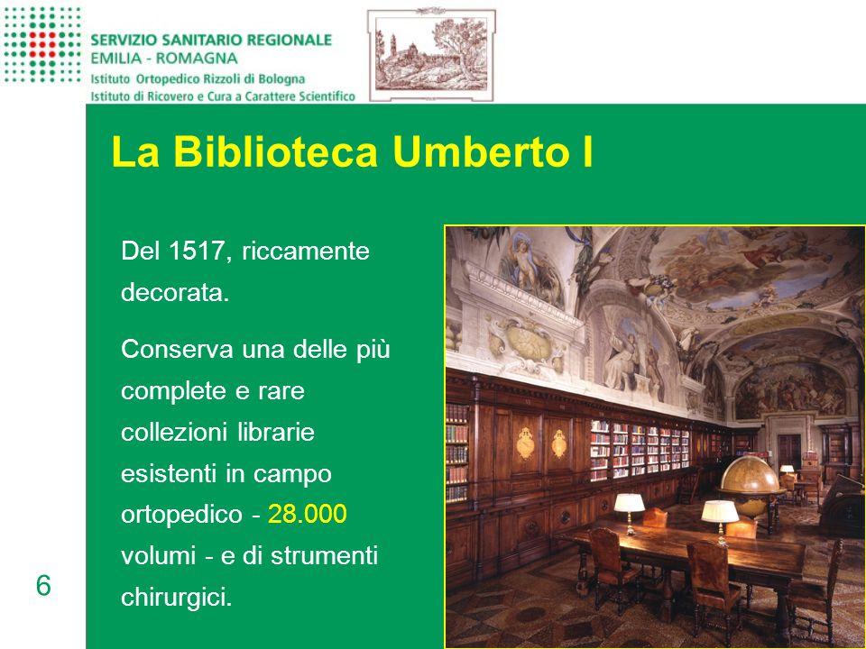 6 La Biblioteca Umberto I Del 1517, riccamente decorata.