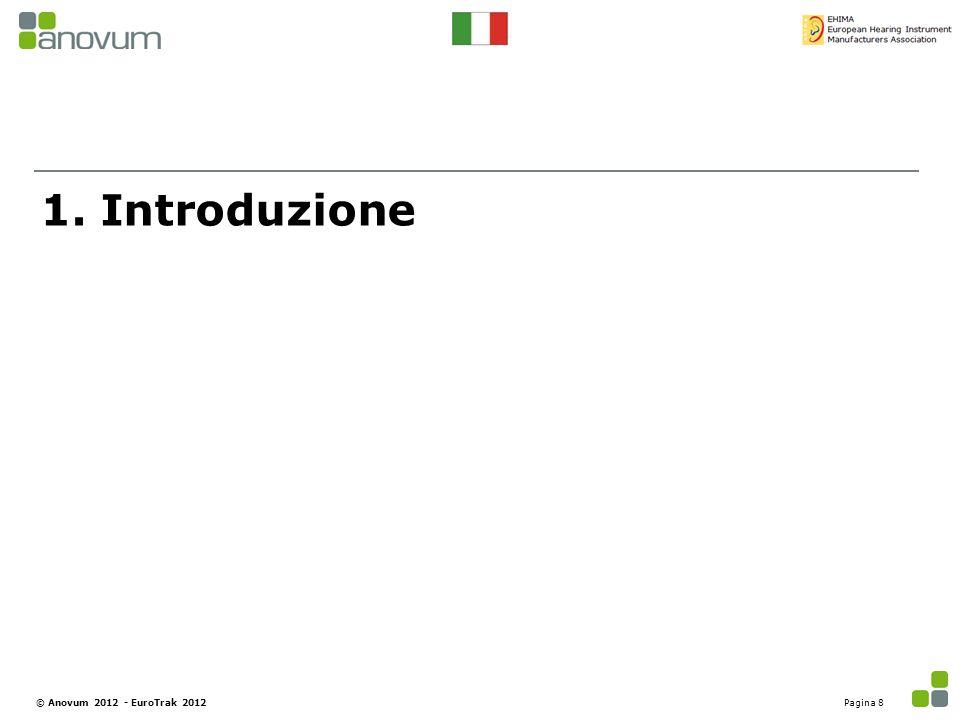 1. Introduzione Pagina 8© Anovum 2012 - EuroTrak 2012