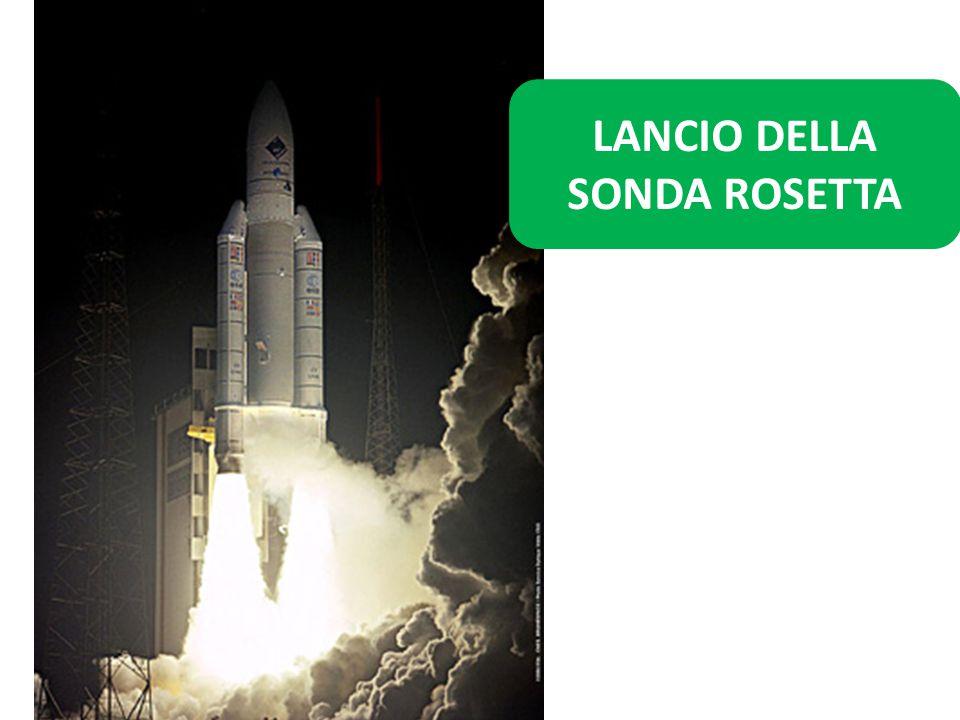 LANCIO DELLA SONDA ROSETTA