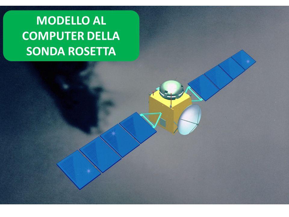 MODELLO AL COMPUTER DELLA SONDA ROSETTA