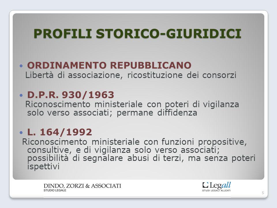 PROFILI STORICO-GIURIDICI SENT.