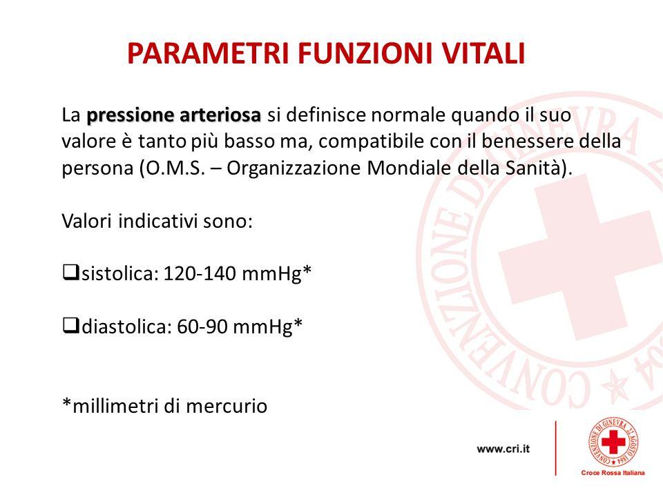pressione arteriosa La pressione arteriosa si definisce normale quando il suo valore è tanto più basso ma, compatibile con il benessere della persona (O.M.S.