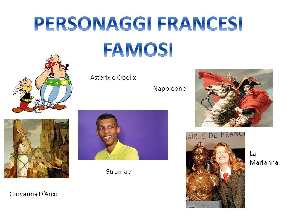 Asterix e Obelix Giovanna D'Arco Napoleone Stromae La Marianna