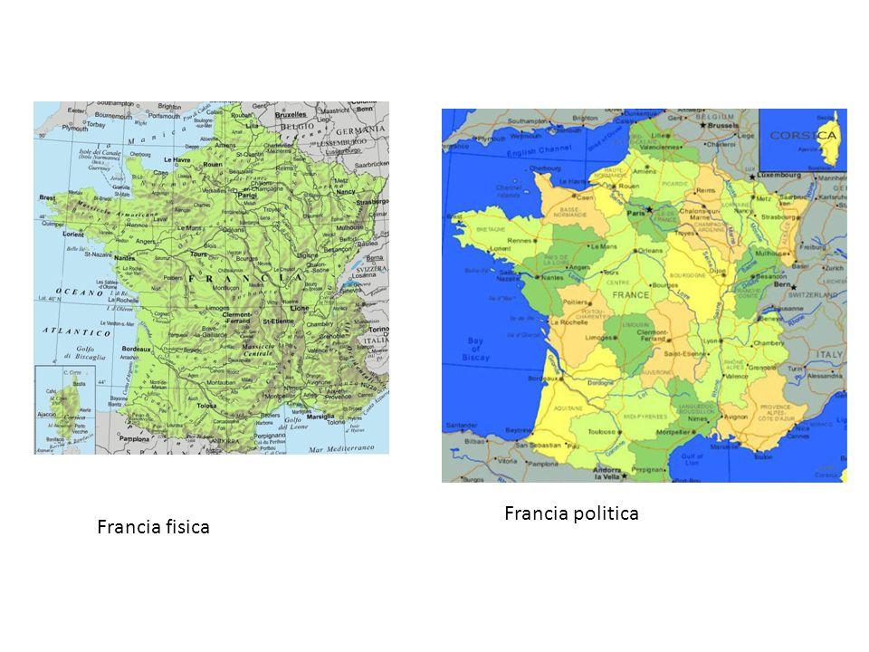 Francia fisica Francia politica