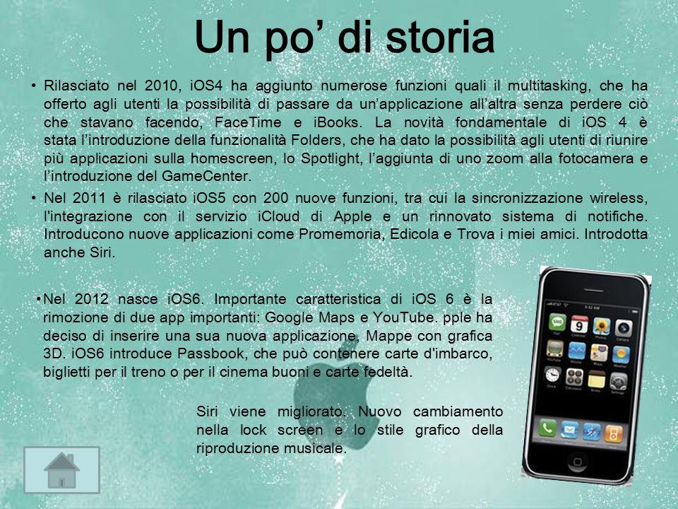 Rilasciato nel 2010, iOS4 ha aggiunto numerose funzioni quali il multitasking, che ha offerto agli utenti la possibilità di passare da un'applicazione