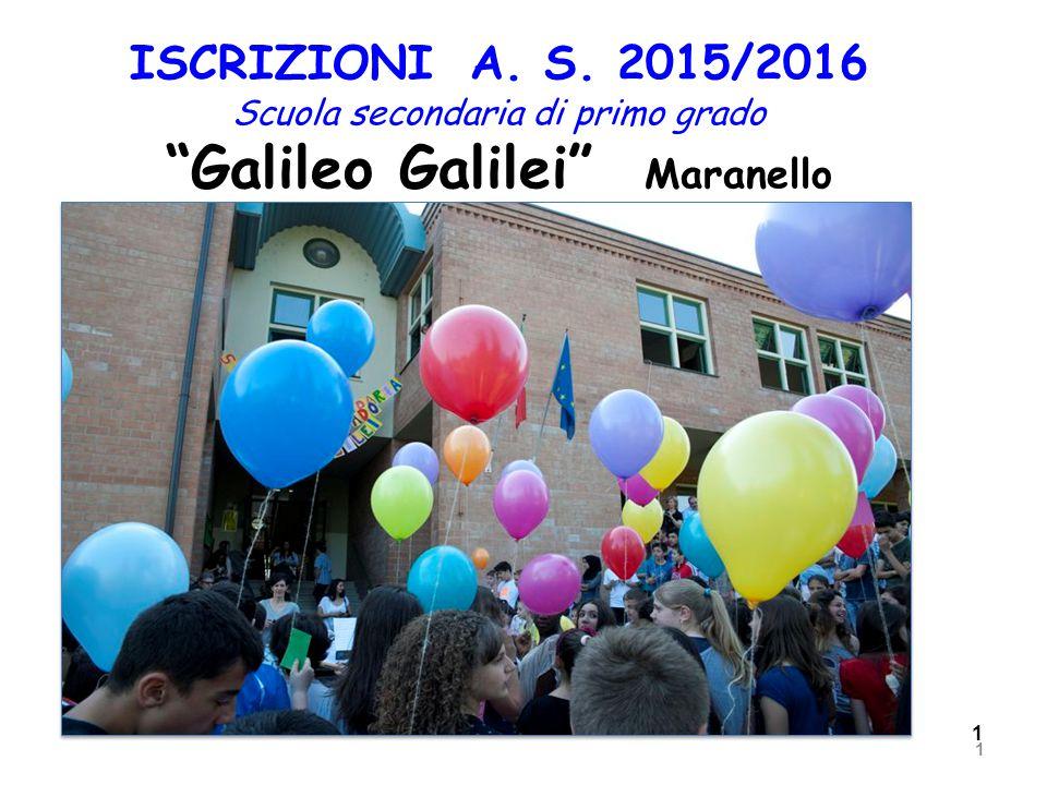 1 gennaio 2015 Istituto Comprensivo Ing Carlo Stradi 1 ISCRIZIONI A.