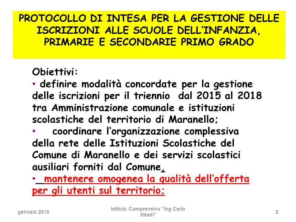 gennaio 2015 Istituto Comprensivo Ing Carlo Stradi 33