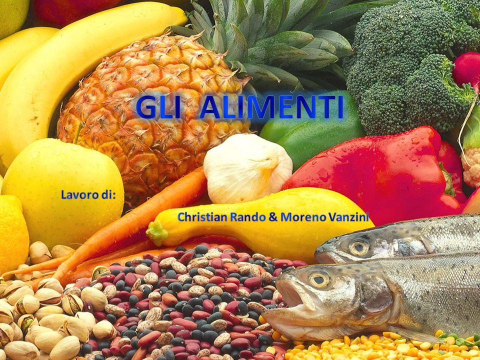 Gli alimenti sono organismi o parti di organismi del mondo vegetale o animale atti a fornire, in generale dopo avere subito i processi digestivi, energia e principi nutritivi.