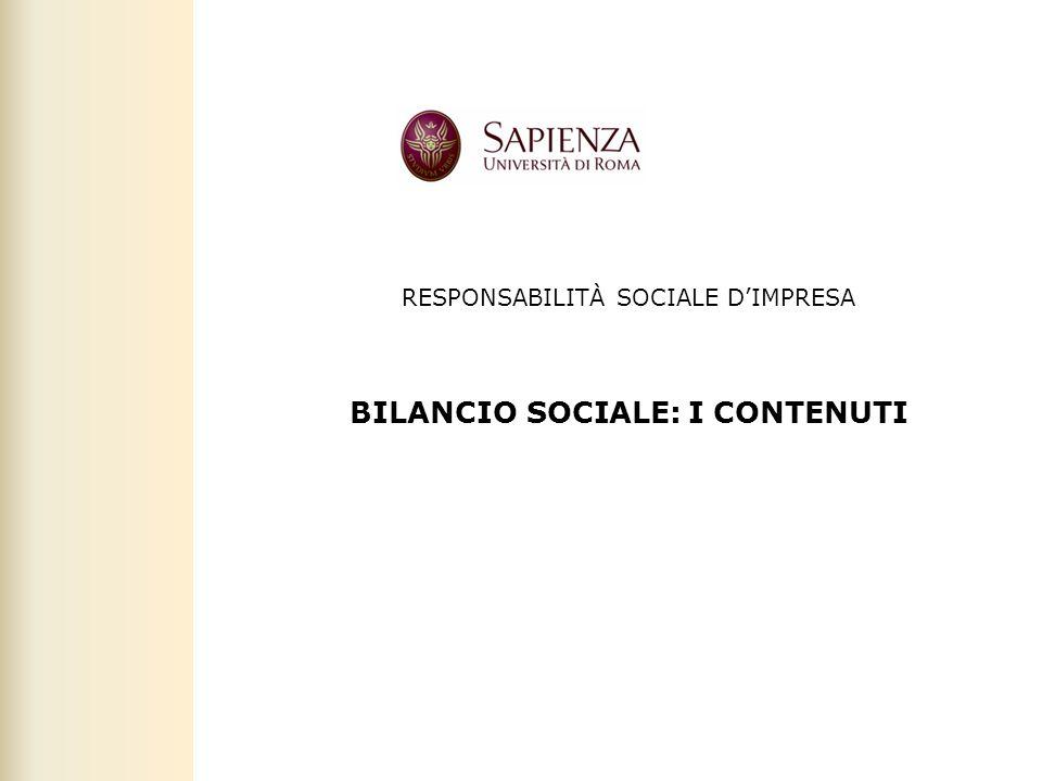 Facoltà di Scienze politiche, sociali e della comunicazione – A.A. 2011-2012   Responsabilità sociale d'impresa   26 RESPONSABILITÀ SOCIALE D'IMPRESA