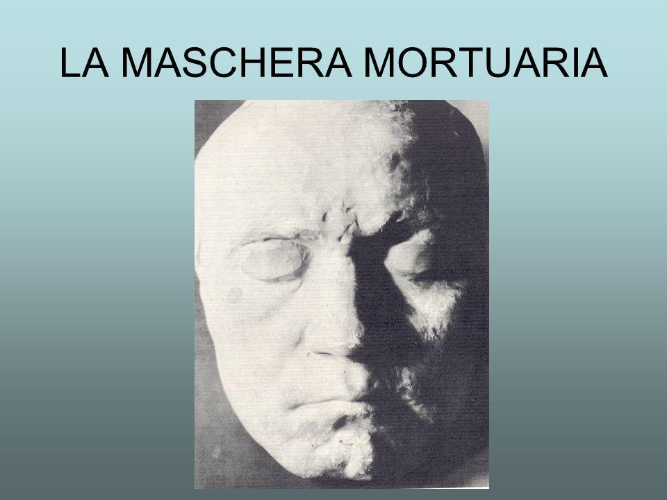 LA MASCHERA MORTUARIA