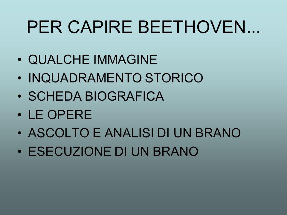 PER CAPIRE BEETHOVEN...