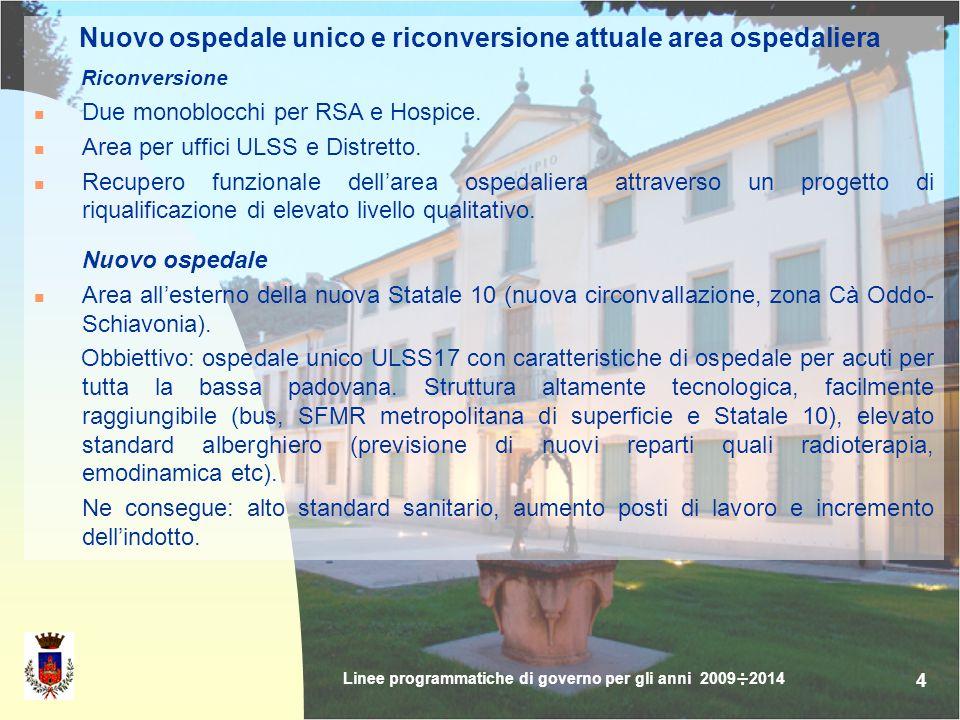 15 SICUREZZA Convenzione con associazioni Carabinieri e militari in pensione per controllo del territorio.