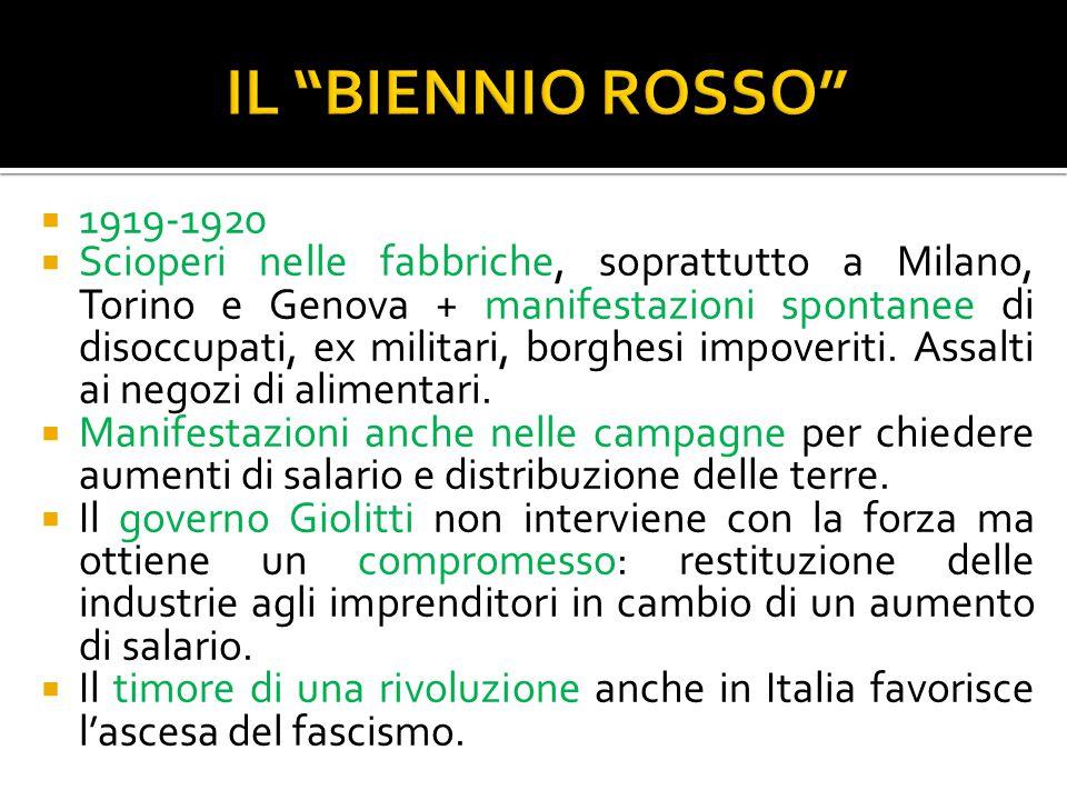  Partito Popolare (don Luigi Sturzo): cattolici.