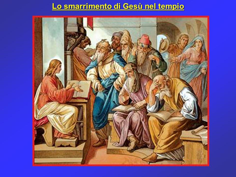 Lo stato d'animo di Maria che smarrisce Gesù nel tempio è simile a quello del cristiano che dopo aver ricevuto da Dio tante grazie spirituali, avverte, a volte dopo anni, un RIAFFIORARE DELLE TENTAZIONI, che sembravano vinte, e DEI DUBBI.