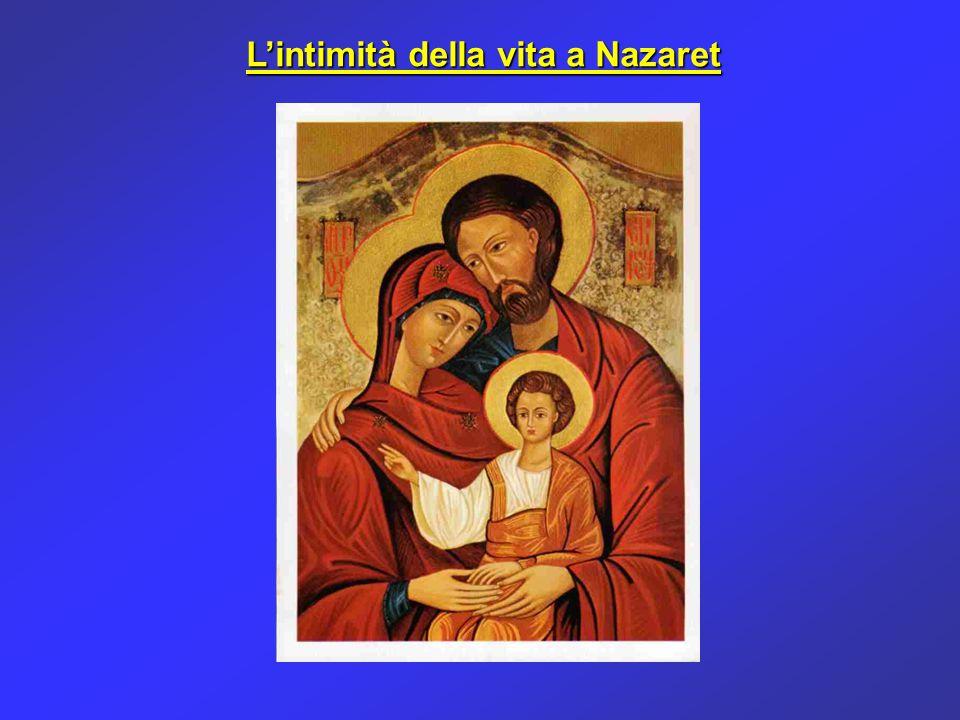 Il rapporto intimo tra Maria e Gesù era il rapporto più sublime e più divino che si possa pensare, dopo quello fra le persone della Santissima Trinità.