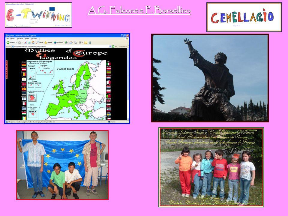 ✩ Aspetti di qualificazione del Progetto. Scuola Francese: l'eTwinning ha costituito la prima esperienza di partecipazione attiva allo spazio educativ
