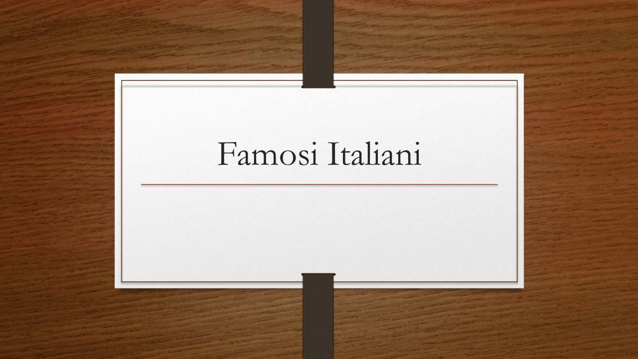 Famosi Italiani
