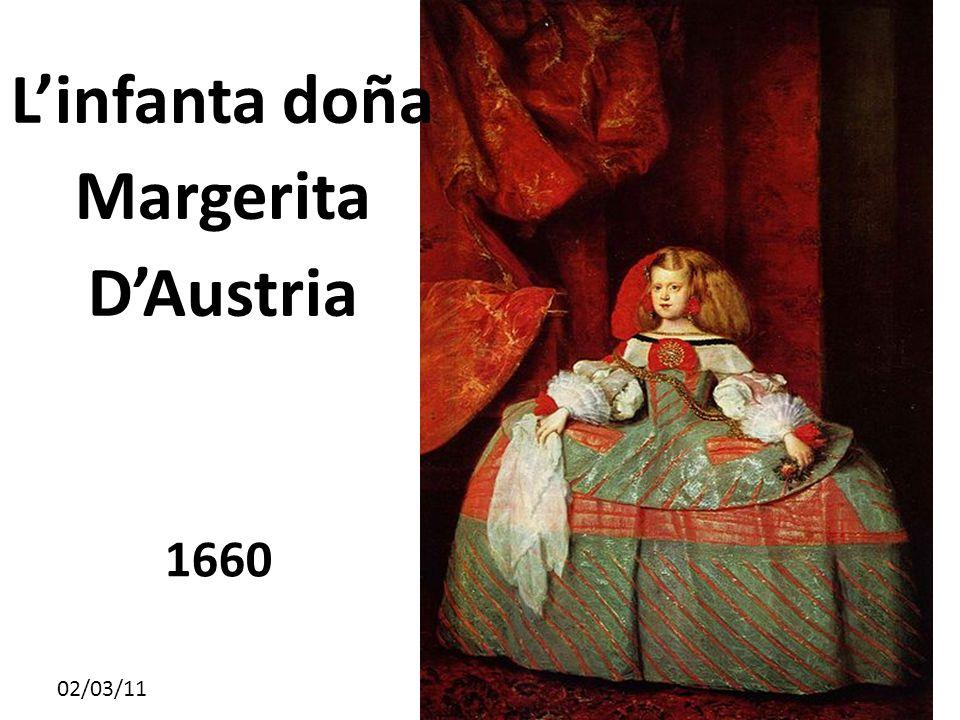 02/03/11 L'infanta doña Margerita D'Austria 1660
