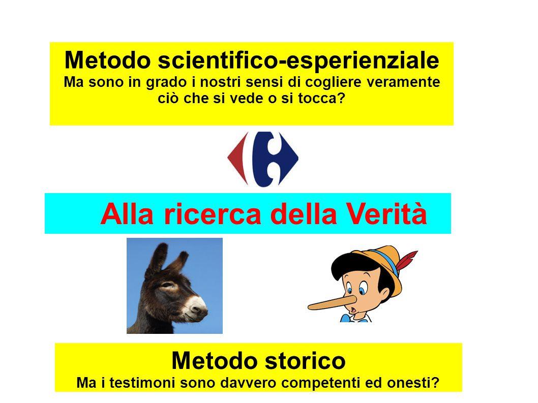 Alla ricerca della Verità ESPERIENZA DIRETTA Metodo scientifico-esperienziale ESPERIENZA DIRETTA Metodo scientifico-esperienziale ESPERIENZA DIRETTA M