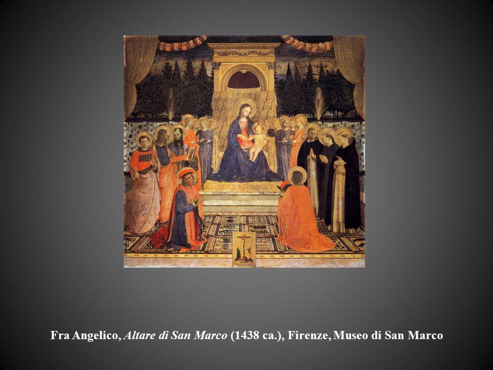 Fra Angelico, Altare di San Marco (1438 ca.), Firenze, Museo di San Marco