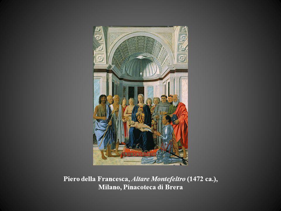 Piero della Francesca, Altare Montefeltro (1472 ca.), Milano, Pinacoteca di Brera