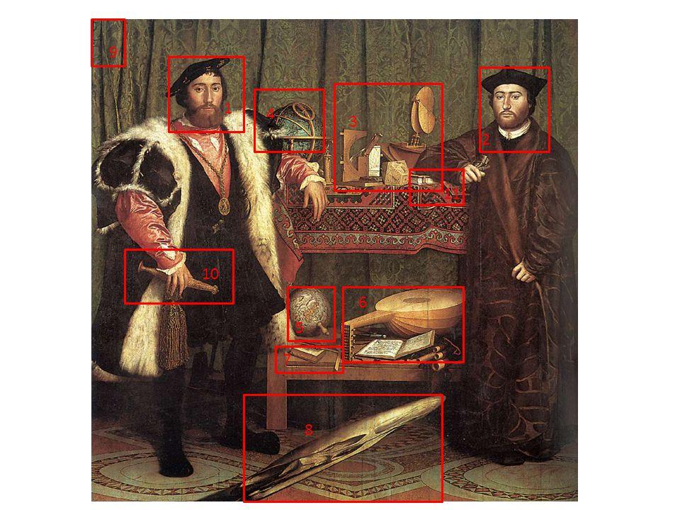 JEAN DE DINTEVILLE (1504-1555) Giovane aristocratico francese, ambasciatore a Londra nel 1533, in missione ufficiale per rappresenta il suo re, Francesco I di Francia.