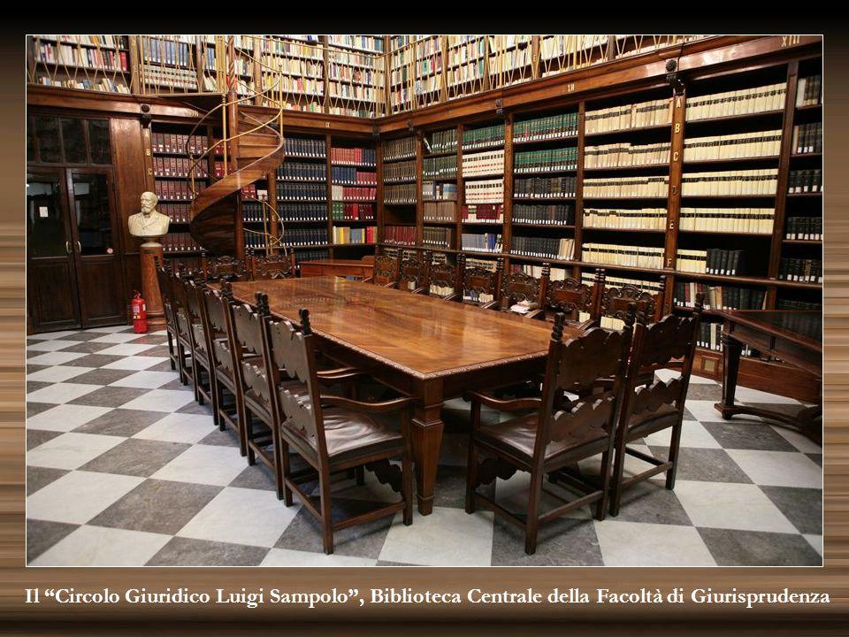 """Il """"Circolo Giuridico Luigi Sampolo"""", Biblioteca Centrale della Facoltà di Giurisprudenza"""