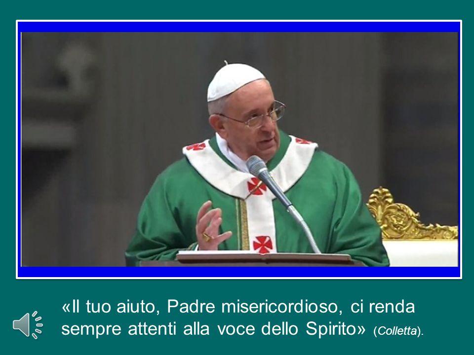 Lo Spirito Santo ci parla oggi anche attraverso le parole di san Paolo: «Siete tempio di Dio …santo è il tempio di Dio, che siete voi» (1Cor 3,16-17).