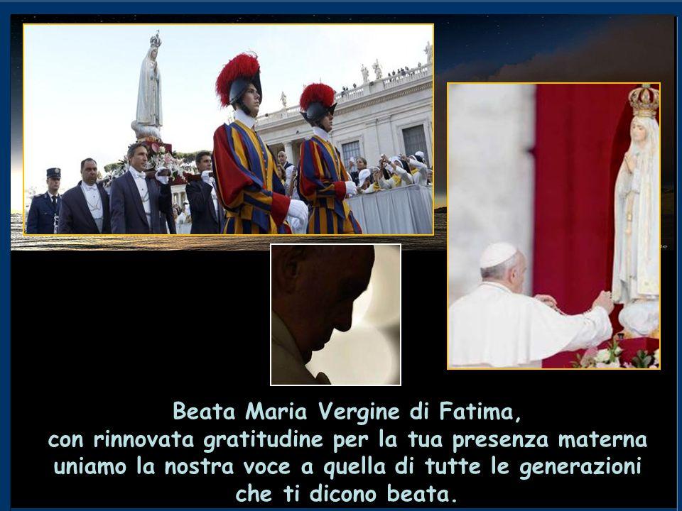 Testo di: Sua Santità Papa Francesco Città del Vaticano, Piazza San Pietro - Domenica, 13 ottobre 2013 Realizzazione e adattamento: Sig.