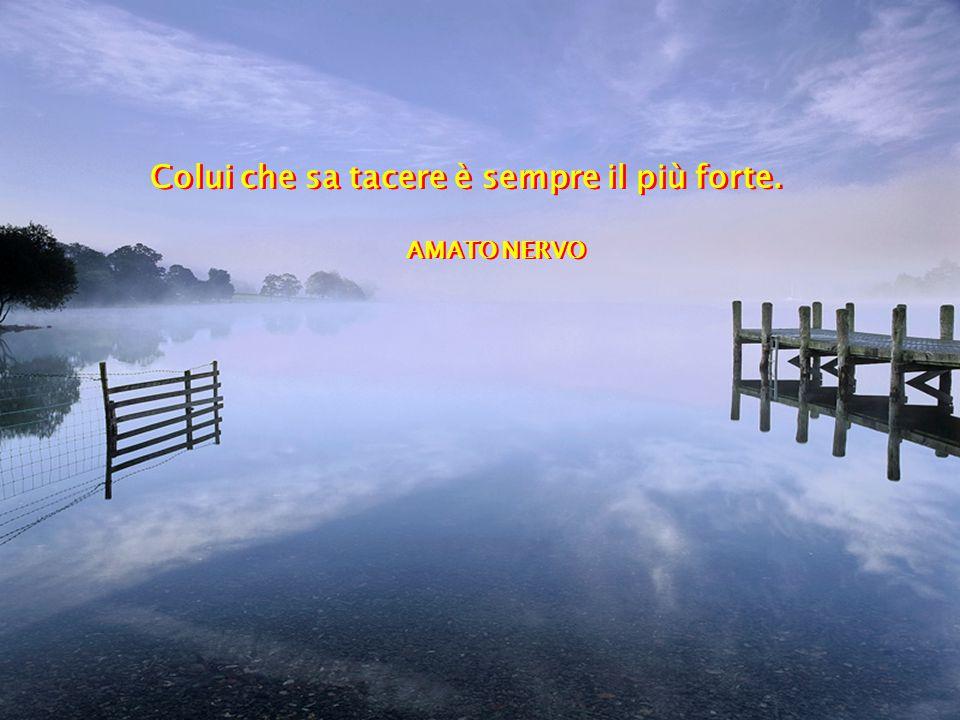 Il silenzio è la prima pietra del Tempio della sapienza.