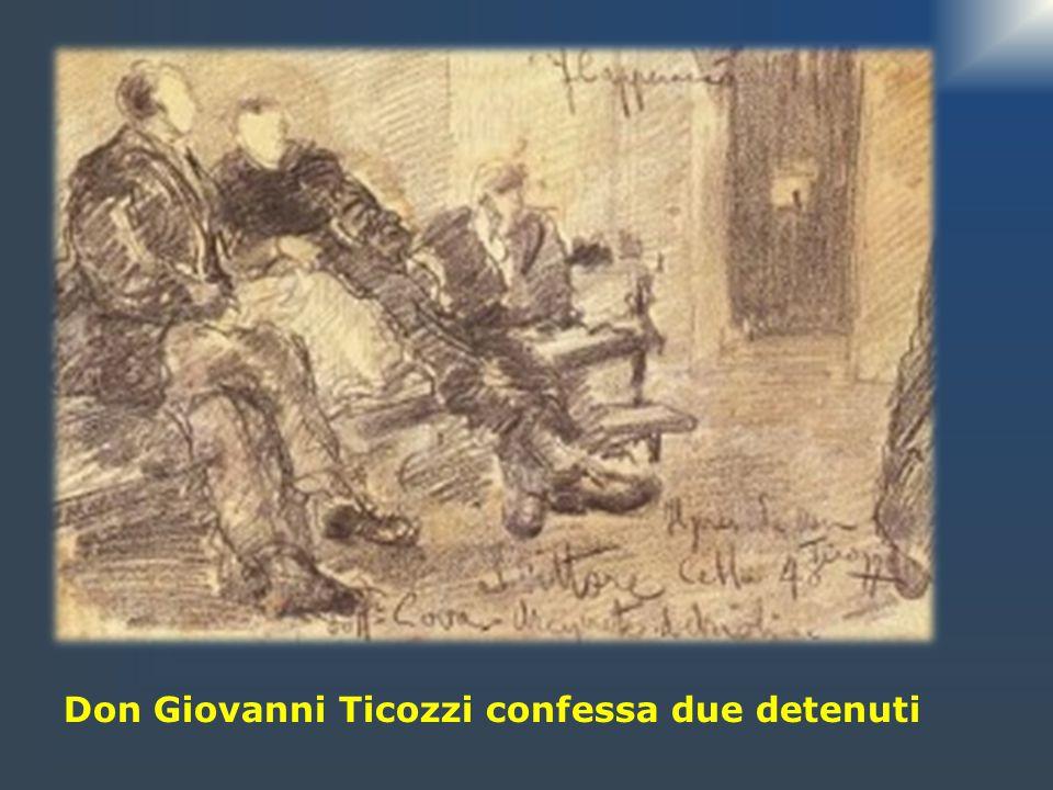Detenuti che escono dal carcere
