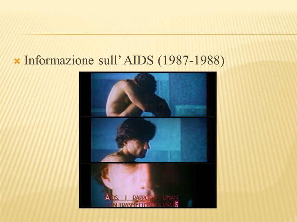  Informazione sull' AIDS (1987-1988)