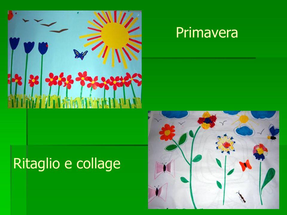 Primavera Ritaglio e collage